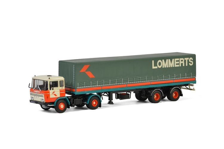 DAF 2600 Classic Curtainside  Lommerts