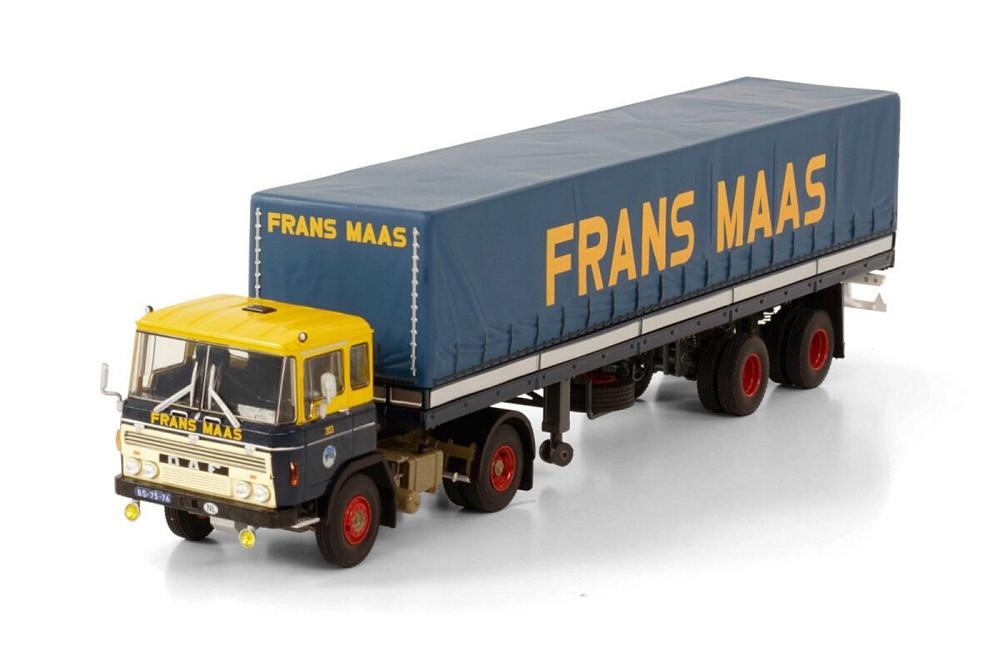 DAF 2600  Curtainside Classic  Frans Maas