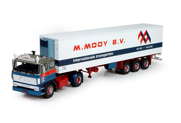 DAF 2800 4x2 SC  kuehlauflieger Mooy M