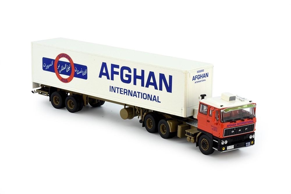 DAF 2800  Classic Auflieger Afghan