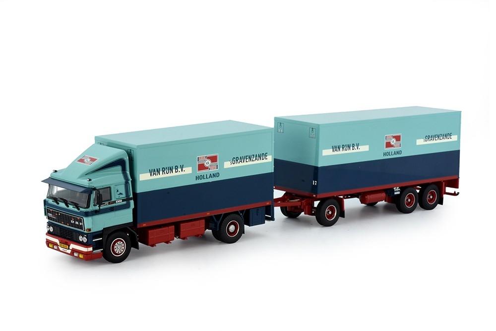 DAF 2800 Motorwagen Anhaenger 3 Achs Rijn van