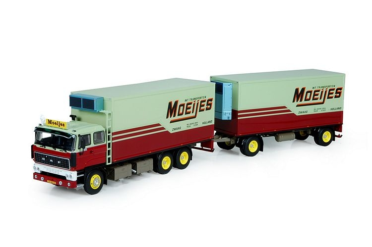DAF 2800 Motorwagen anhanger Moeijes