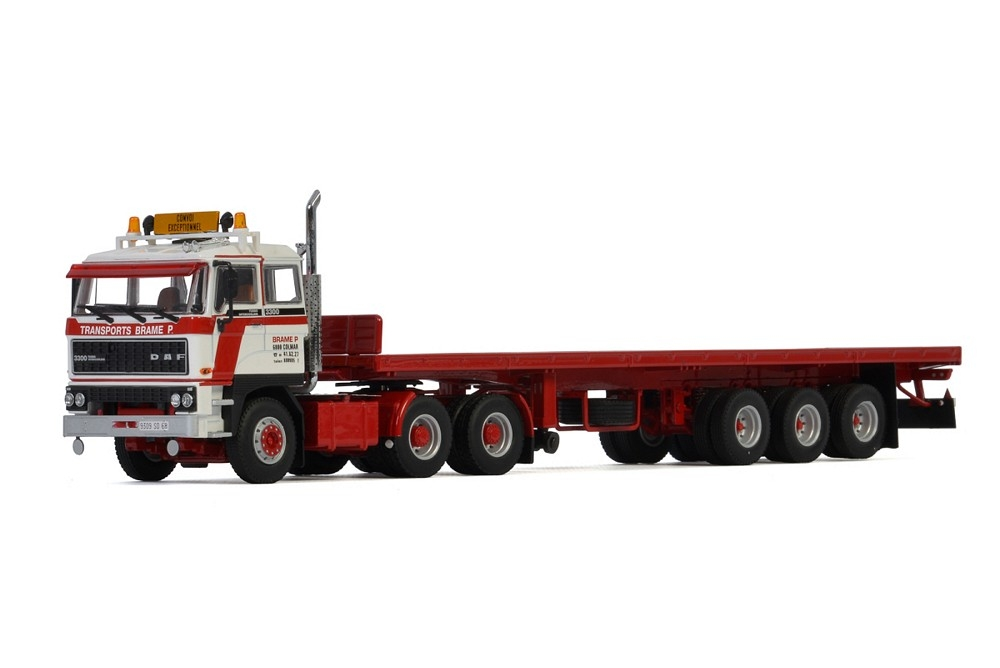 DAF 3300 6X4 Flat Bed Classic  Transports Brame P