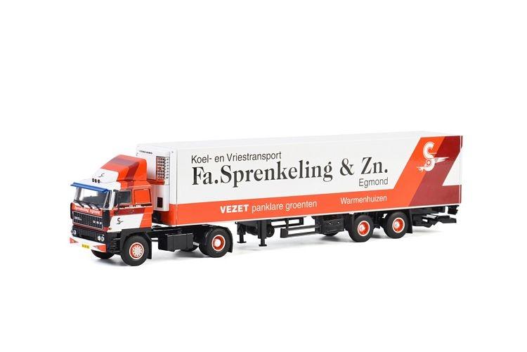 DAF 3300 Reefer Trailer  Fa. Sprenkeling & Zn