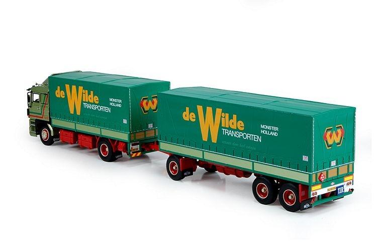 DAF 3300  Zugfahrzeug Anhaenger Wilde MJ De