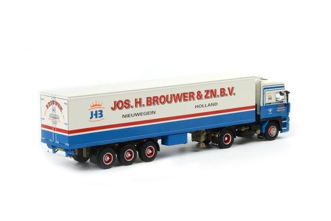 DAF 3600 Space Cab Kofferauflieger 3 Achs  Jos H Brouwer