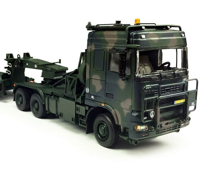 Daf 400KN Tropco 6x6   semi Tieflader