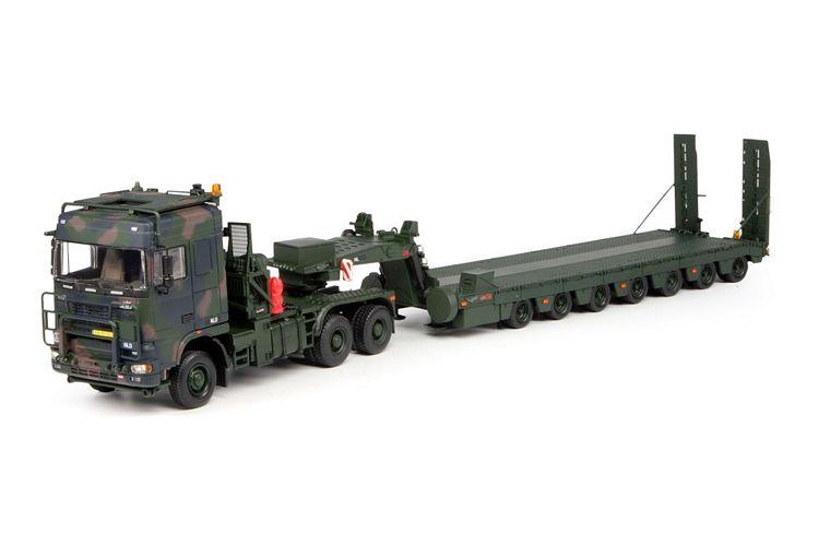 Daf 650KN Tropco 6x6 7 achse semi Tieflader