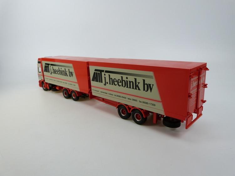 DAF 95  330 6x2 mit 2 achs Anhänger  J Heebink bv