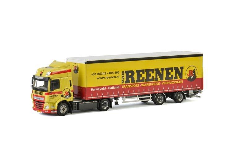 DAF CF SC Curtainside  Van Reenen