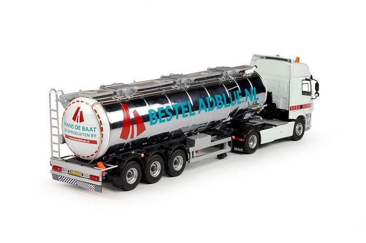 DAF CF SC Goosneck tanktrailer Baat Hans de