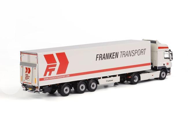DAF CF SC Kühlauflieger  Franken Transport