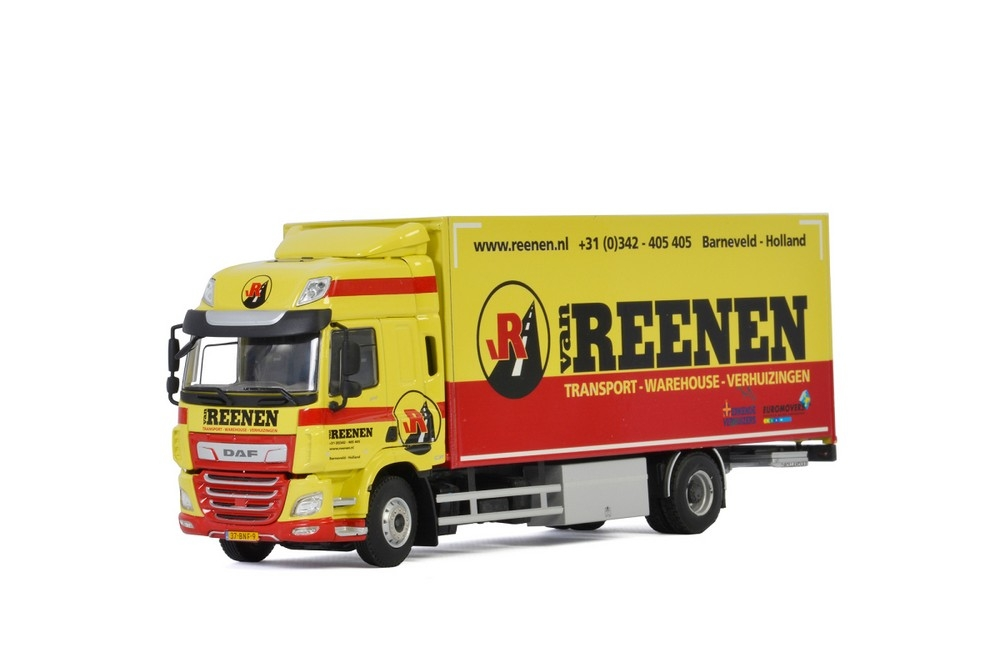 DAF CF SC MY2017  Riged Box   Van Reenen Transport B.V