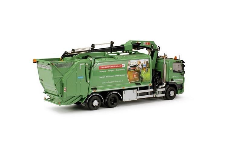 DAF CF85 Müllwagen Van Happen Containers