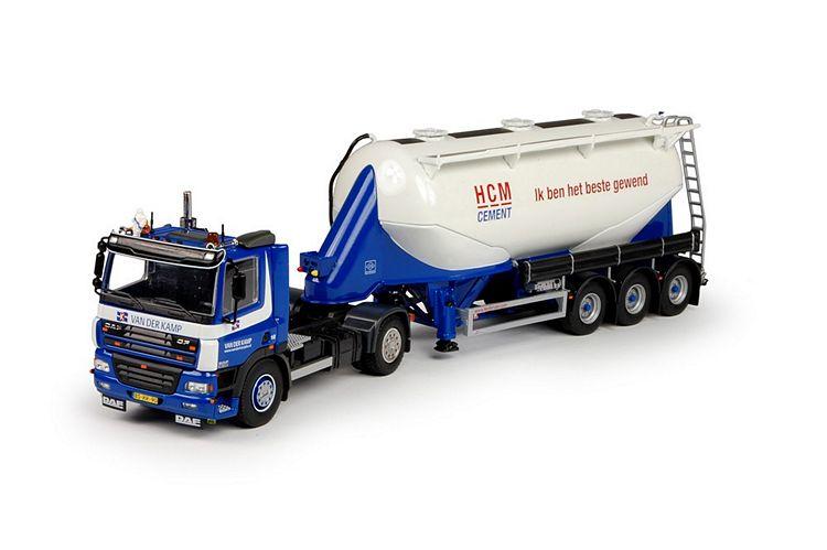 DAF CF85  Siloauflieger HCM Cement