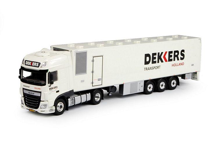 DAF Euro 6 SSC kastenauflieger Dekkers Transport