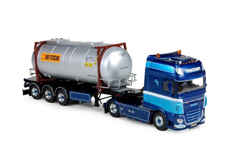 DAF Euro 6 SSC Swap tankcontainer Maasdam