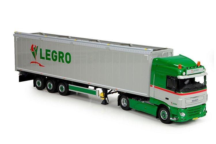 DAF Euro 6 XF SC Cargo floor  Legro