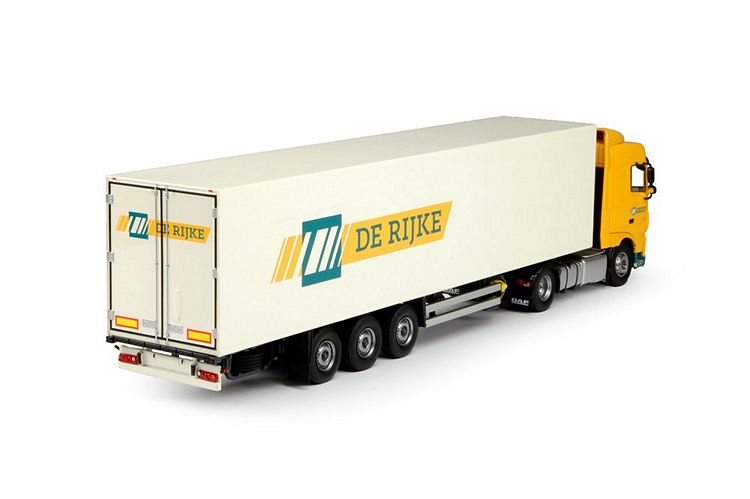 DAF Euro 6 XF SC  kastenauflieger Rijke De