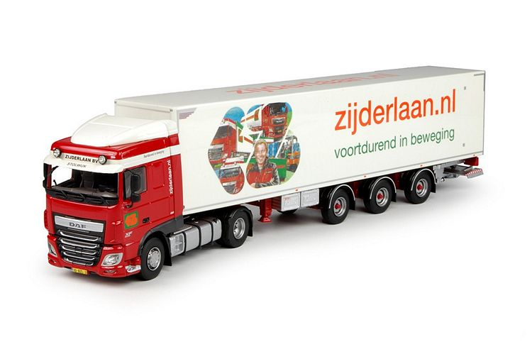 DAF Euro 6 XF SC  kastenauflieger Zijderlaan