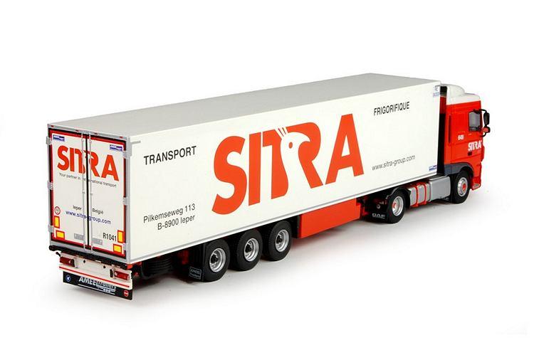 DAF Euro 6 XF SC  Kühlauflieger Sitra