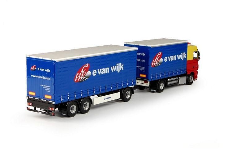 DAF Euro 6 XF SC  Wijk, E. van