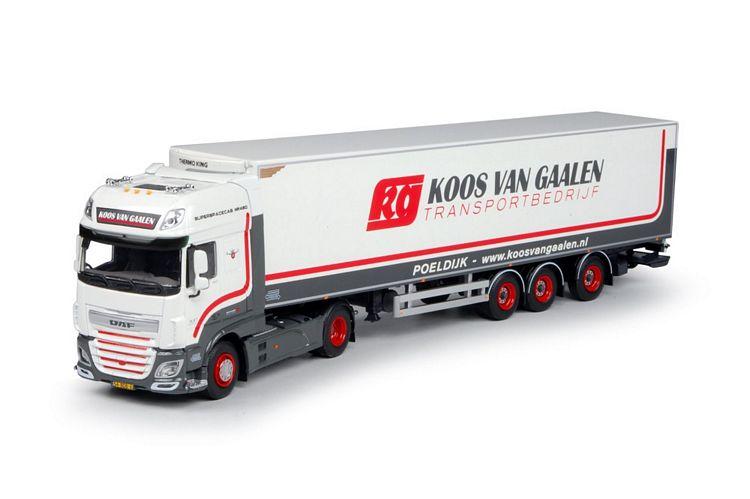 DAF Euro 6 XF SSC Kühlauflieger Koos van Gaalen