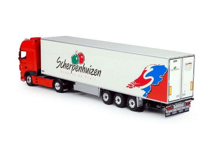 DAF Euro 6 XF SSC  Kühlauflieger Scherpenhuizen
