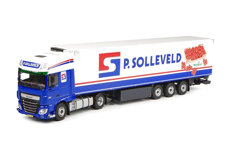 DAF Euro 6 XF SSC Kuehlauflieger Solleveld P.