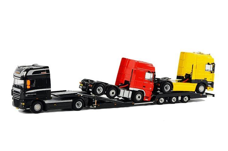DAF LKW Transporter mit 2x DAF Ladung