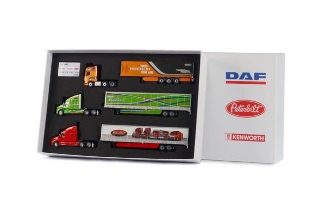 DAF Peterbilt  Kenworth Paccar Brand Box Set