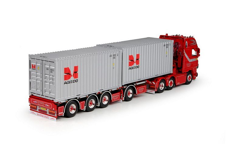 DAF XF 105 SSC D-Tec  container Weeda