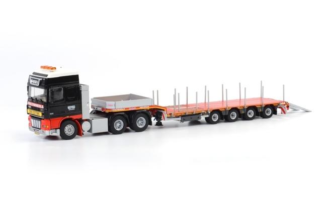 DAF XF 95 Semittieflader Multiwheels