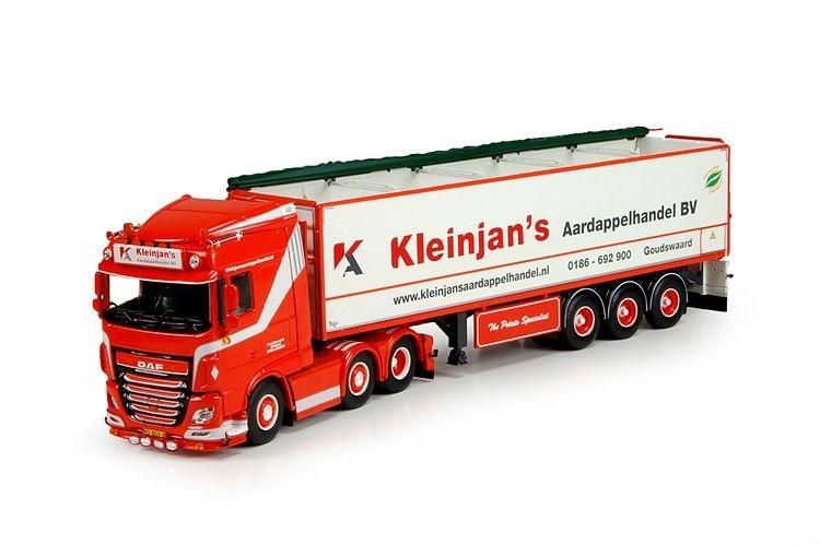 DAF XF Euro 6 SC  Kartoffeln Auflieger Kleinjans