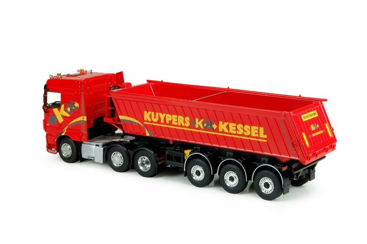 DAF XF Euro 6 Space Cab  Meiller Kipper Kuypers