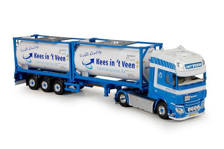 DAF XF EURO 6 SSC flexitrailer Veen In t