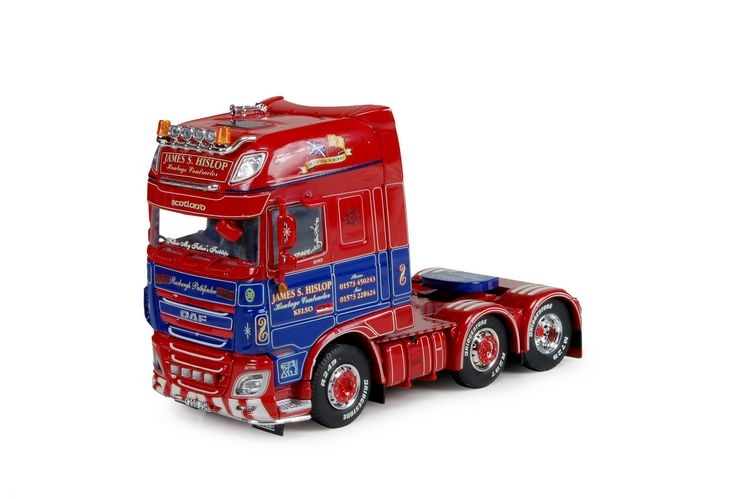DAF XF Euro 6 SSC Hislop James