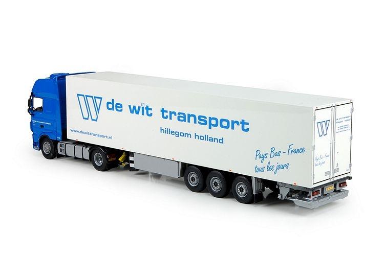 DAF XF Euro 6 SSC  Kuehlaufliege de Wit Transport