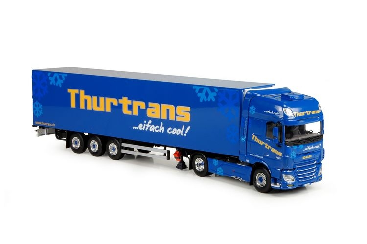 DAF XF Euro 6 SSC reefer semitrailer Schoni Thurtrans