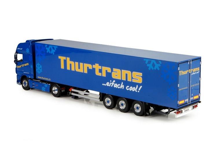 DAF XF Euro 6 SSC reefer semitrailer Schoni Thurtrans