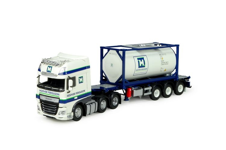 DAF XF Euro 6 SSC Swap Container Hoover Ferguson