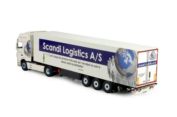 DAF XF Euro 6 Super Space Cab Kuehlauflieger Scandi Logistics