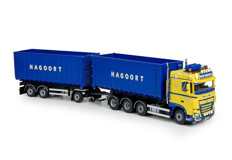 DAF XF SC Euro 6 Hakenlift   Hagoort
