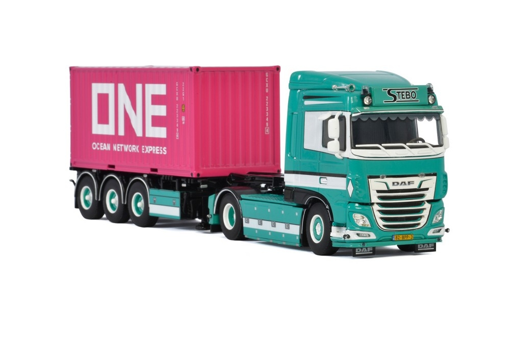 DAF XF SC MY 2017 Container Trailer   Stebo Transport
