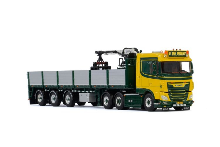 DAF XF SC MY2017 Brick Trailer E. de Vries Transport