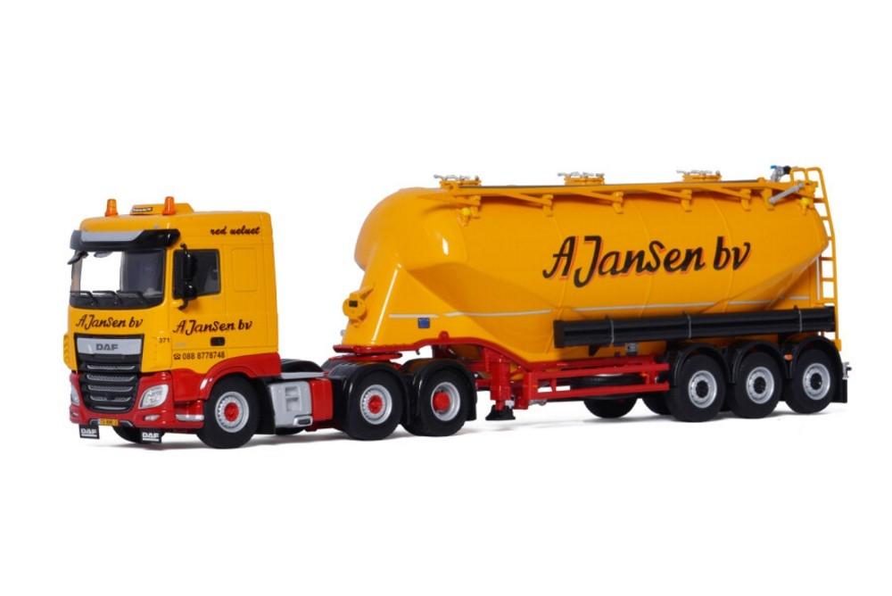 DAF XF SC MY2017 Bulk  OMEPS  A. Jansen BV