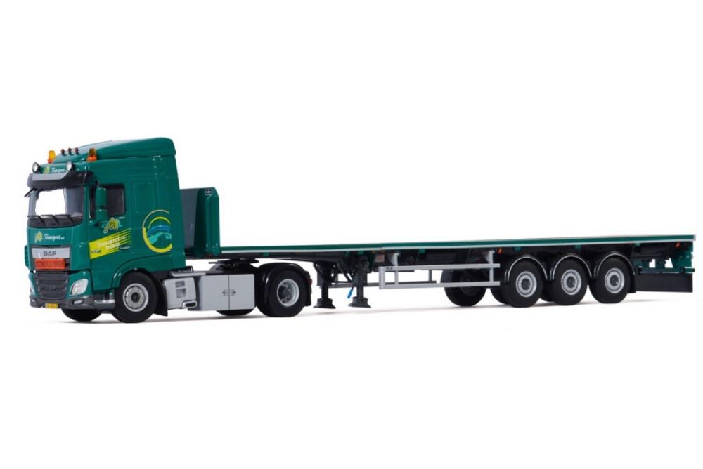 DAF XF SC MY2017 Flatbed Trailer  AM Transport