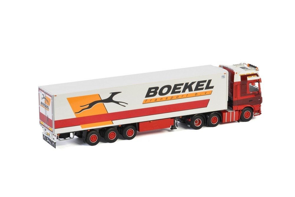 DAF XF SC MY2017  Reefer Trailer  Boekel Leegwater Transport