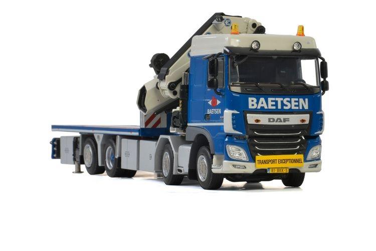 DAF XF SC Riged Flatbed  Mounted Crane Baetsen