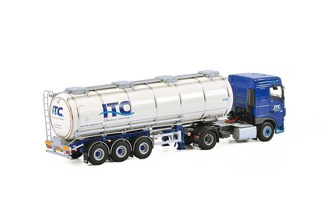 DAF XF SC Tankauflieger  ITC Holland